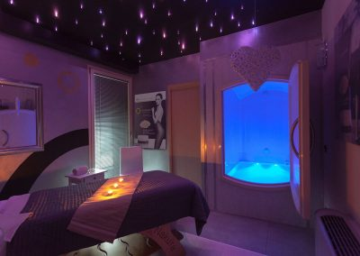Floating room Centro Benessere Seta